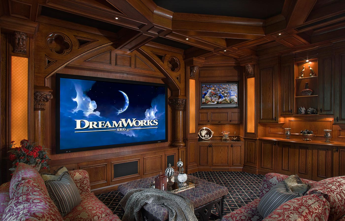 beautiful designing a home theater room images - 3d house designs